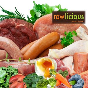 Rawlicious Completes - The best diet a dog can get.